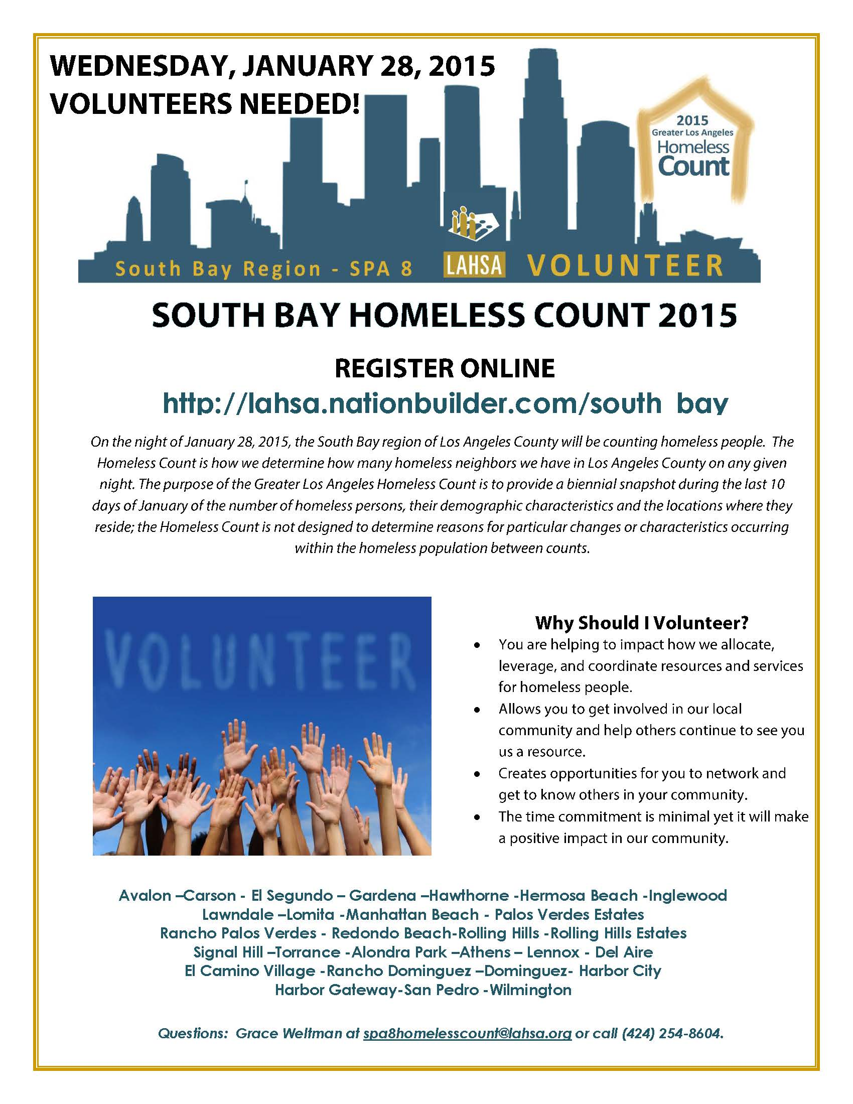Homeless Count  South Bay Ver 2